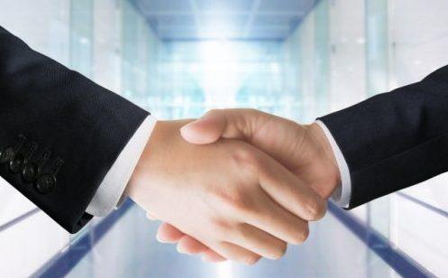 握手ビジネス